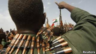 جنود سودانيون في مناطق القتال