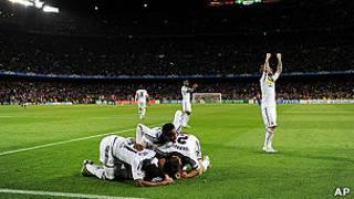 Chelsea yatsinze Barcelona