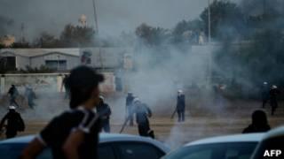 مصادمات في البحرين