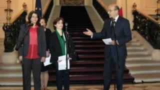 Ngoại trưởng Pháp Alain Juppé tiếp các nhà hoạt động Syria