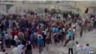 Взрыв в Хаме