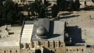 Мечеть Аль-Акса на Храмовой горе в Иерусалиме