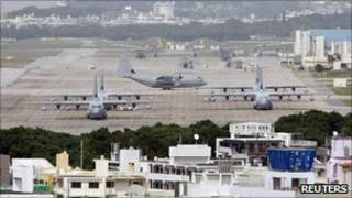پایگاه نظامی فوتنما در ژاپن