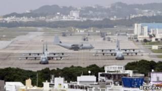 Американская база на Окинаве