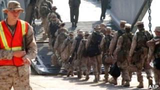 تفنگداران دریایی آمریکا در اوکیناوا