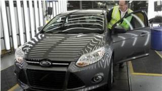 سيارة من تصنيع شركة فورد