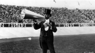 مكبر الصوت الذي استخدم خلال أولمبياد 1908