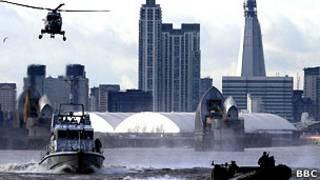 Учения по обеспечению безопасности Олимпиады в Лондоне