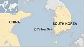 Vùng biển Hoàng Hải nơi ngư dân Trung Quốc bị Bắc Hàn bắt giữ