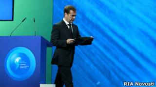 Дмитрий Медведев на форуме в Ярославле