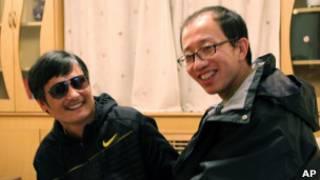 Чэнь Гуанчен и Ху Цзя