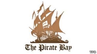 Логотип The Pirate Bay