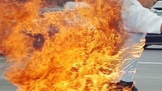 تبت میں خود سوزی