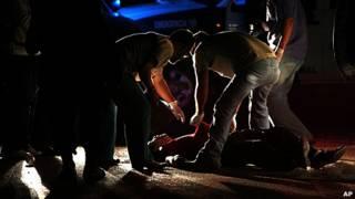 levantamiento de un cadaver en Tegucigalpa