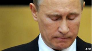 Владимир Путин выступает в Госдуме 11 апреля 2012 года