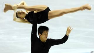 Trượt băng nghệ thuật: Narumi Takahashi và Mervin Tran (Nhật)