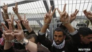 سجناء فلسطينيون