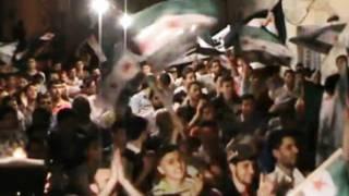 مظاهرة في حلب في الاول من مايو