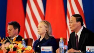 Хиллари Клинтон в Китае