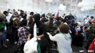 Взрыв на площади Республики