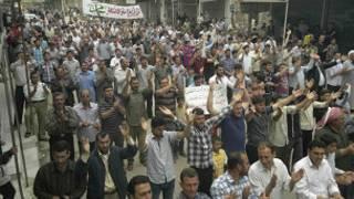 مظاهرة في سوريا
