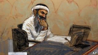 رسم لخالد شيخ محمد
