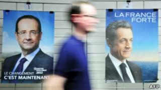 Hollande e Sarkozy (AFP)