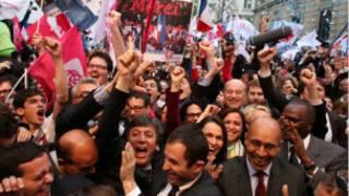 Những ủng hộ viên của Đảng Xã hội Pháp