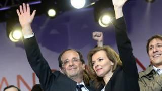 François Hollande e Valerie Trierweiler (BBC)