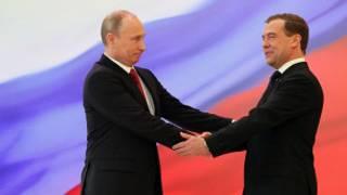 Президенты России - бывший и настоящий