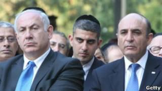 شائول موفاز، رهبر حزب کادیما و بنیامین نتانیاهو