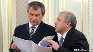 Игорь Сечин и Эдуард Худайнатов