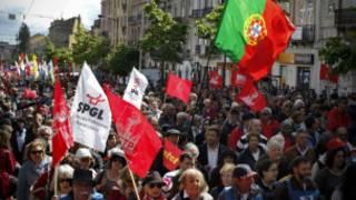 مظاهرات في البرتغال في عيد العمال