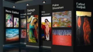 نمایشگاه نقاشان ایرانی