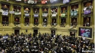Congresso argentino   Foto: Reuters