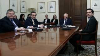 Lãnh đạo các đảng phái Hy Lạp thỏa luận với tổng thống