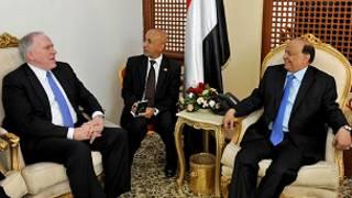جون برينان والرئيس اليمني