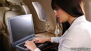 विमान में इंटरनेट