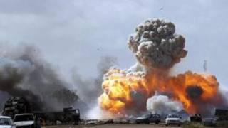 Ana gwamba fada a Libya