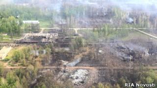 Поселок Урман в Башкирии