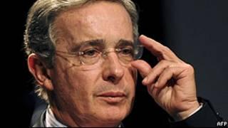 Álvaro Uribe. | Foto: AFP