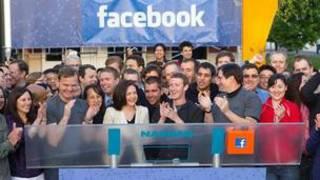 مراسم آغاز فروش سهام فیس بوک