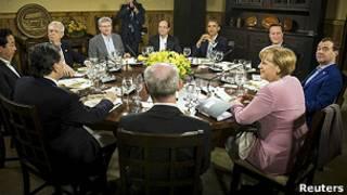 رهبران هشت کشور صنعتی
