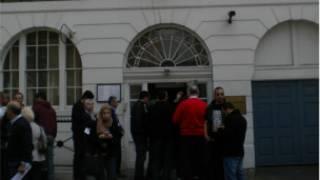 انتخابات الرئاسة المصرية في لندن