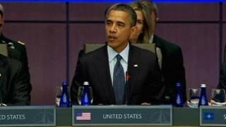 أوباما يتحدث في قمة الناتو