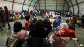 Acampamento para vítimas do terremoto em Finale Emilia, na Itália. | Foto: AP