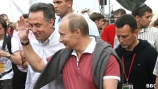 Василий Якеменко, Владимир Путин, Виталий Мутко