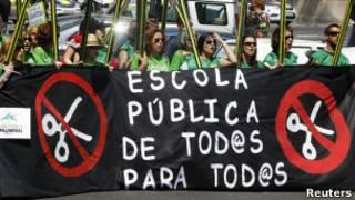 Biểu tình ở Tây Ban Nha