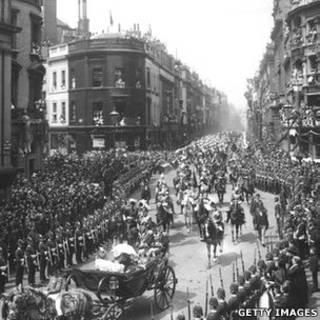 Празднования юбилея королевы Виктории в Лондоне