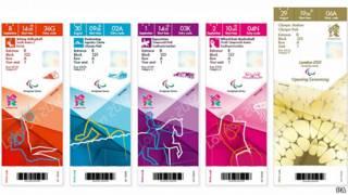 伦敦奥运比赛门票